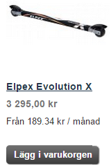 Elpex Evolution X